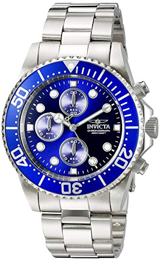 Invicta Men's 1769SYB Pro Diver Stainless Steel Watch